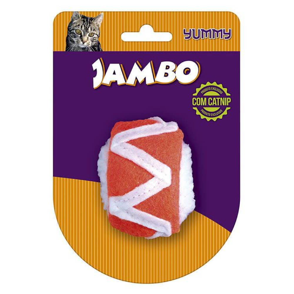 Brinquedo para Gato Jambo Yummy Cat Sushi  - Focinharia