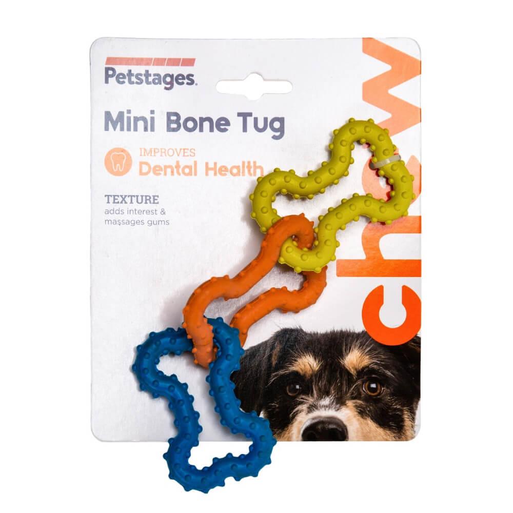 Brinquedo Petstages Mini Bone Tug  - Focinharia