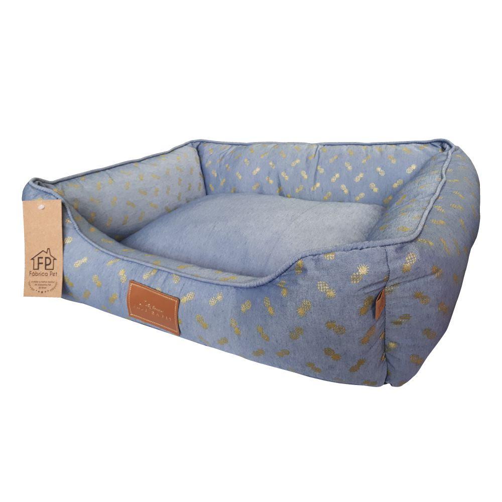 Cama Fábrica Pet Abacaxi Blue  - Focinharia