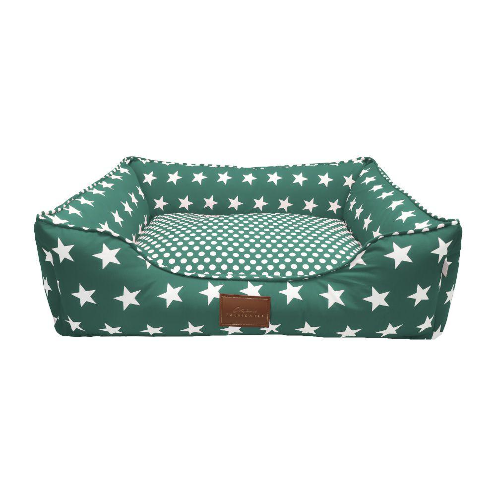 Cama Fábrica Pet Star Verde  - Focinharia