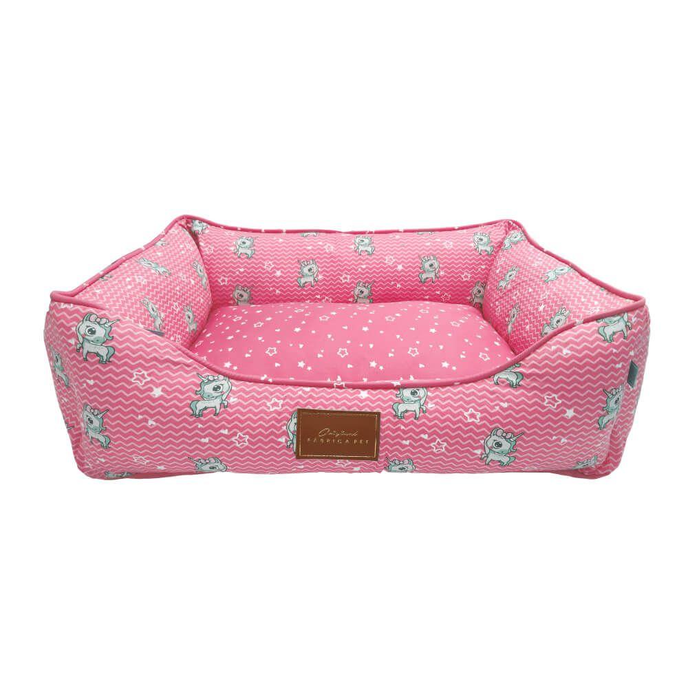 Cama Fábrica Pet Unicórnio - Rosa  - Focinharia
