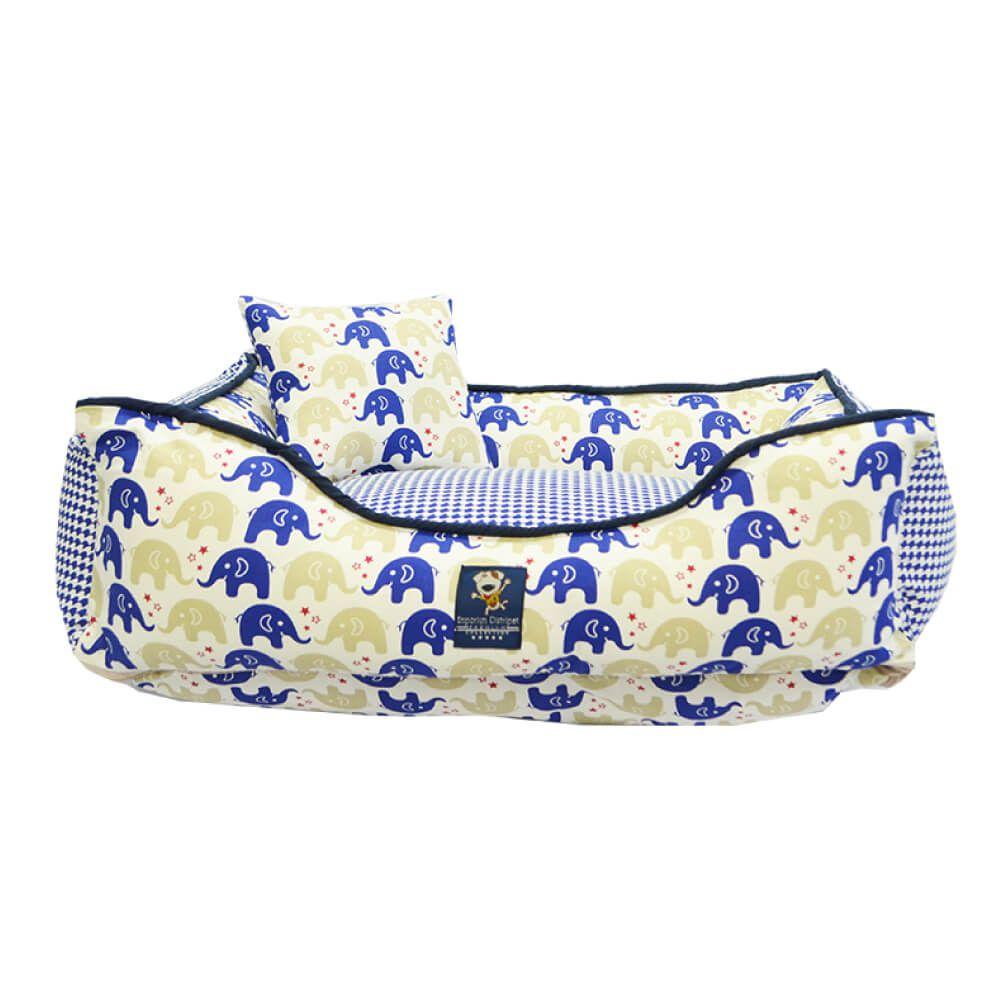 Cama para Cachorro Emporium Distripet Happy Azul  - Focinharia