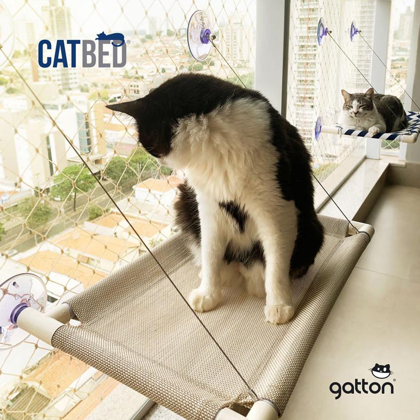 Cama Suspensa de Janela Gatton Catbed Malibu  - Focinharia