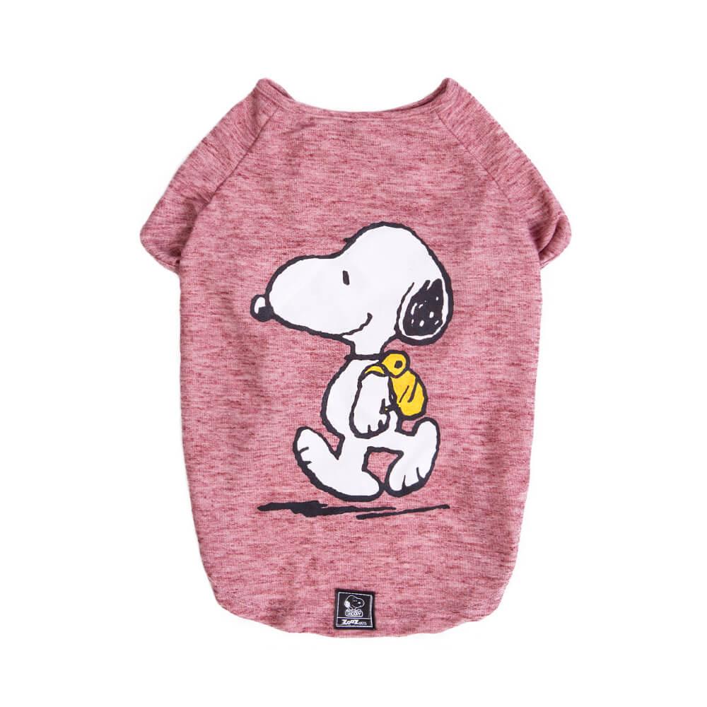 Camiseta Inverno Snoopy Back Pack Hike Zooz Pets  - Focinharia