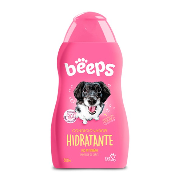 Condicionador Hidratante Pet Society Beeps  - Focinharia