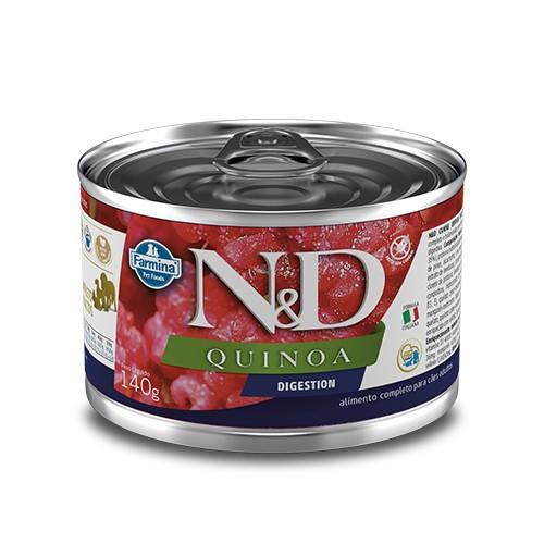Ração Úmida Farmina N&D Quinoa Digestion para Cães Adultos 140 g  - Focinharia