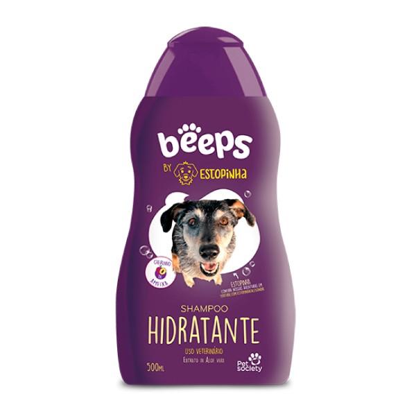 Shampoo Hidratante Pet Society Beeps Estopinha  - Focinharia