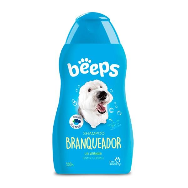 Shampoo Pet Society Beeps Branqueador  - Focinharia