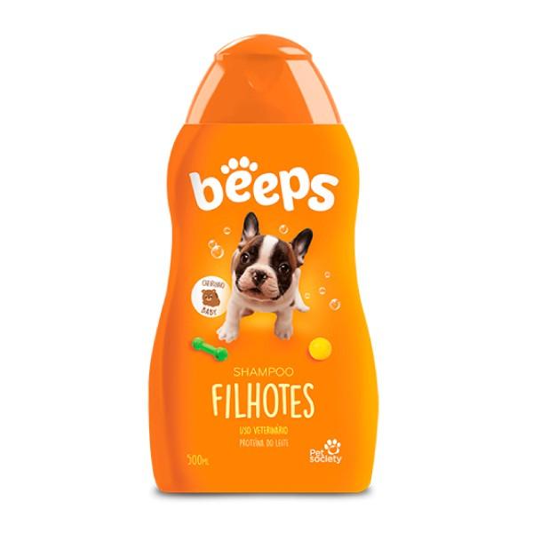 Shampoo Pet Society Beeps Filhotes  - Focinharia