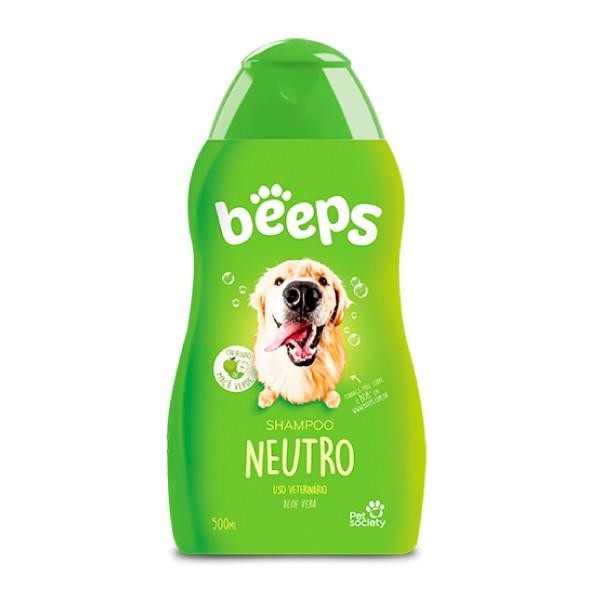 Shampoo Pet Society Beeps Neutro  - Focinharia