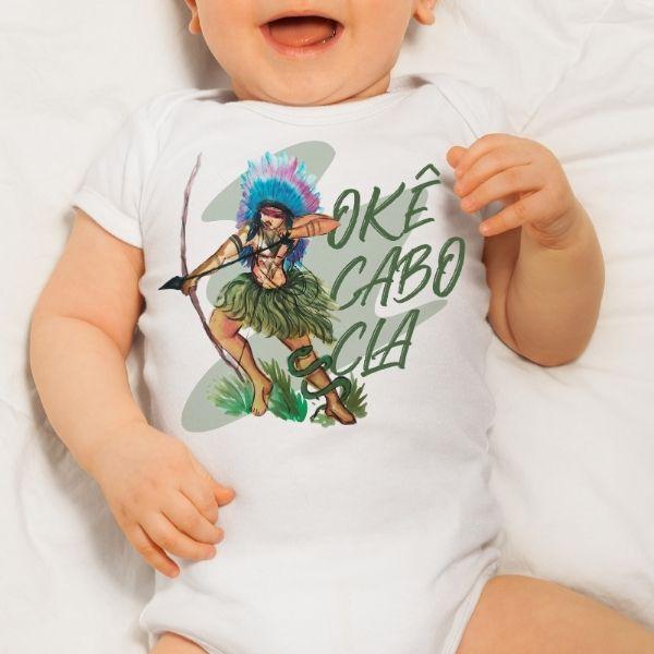 Body Infantil - Cabocla - Body Infantil - GG