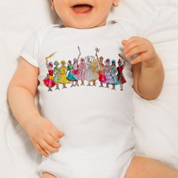 Body Infantil - com os Orixás - Body Infantil - GG