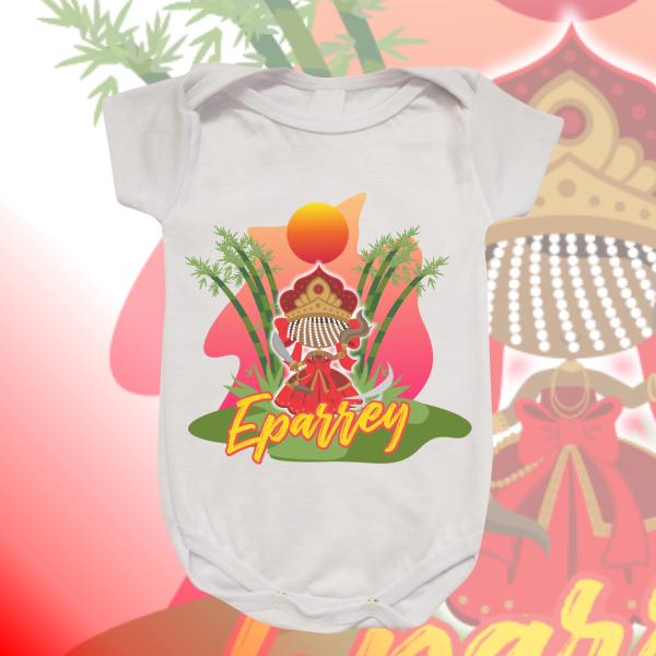 Body Infantil - Iansã baby com cenário
