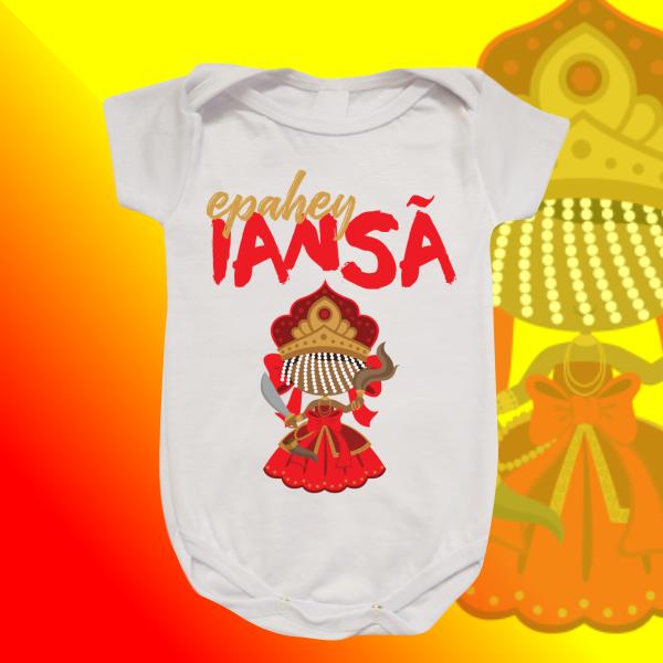 Body Infantil - Iansã baby com franja