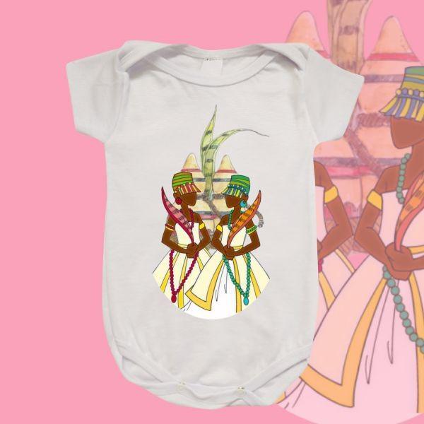 Body Infantil - Ibeji Meninas