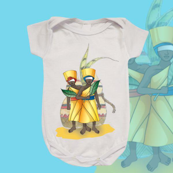 Body Infantil - Ibeji Meninos