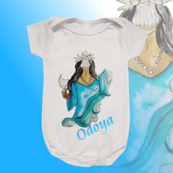 Body Infantil - Iemanjá Aquarela