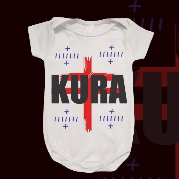 Body Infantil - Kura com quatro marcas de Kura