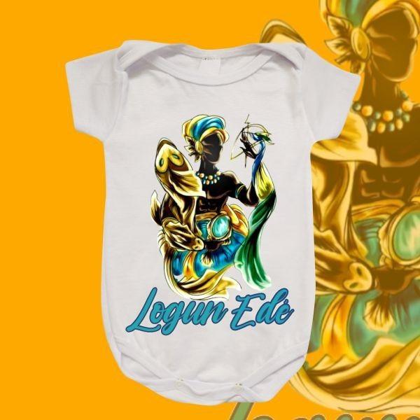 Body Infantil - Logun Edé colorido