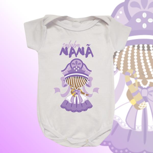 Body Infantil - Nanã com franja