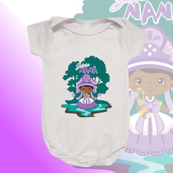 Body Infantil - Nanã sem franja e cenário