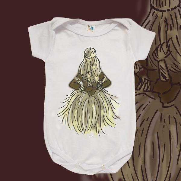 Body Infantil - Obaluaiê colorido
