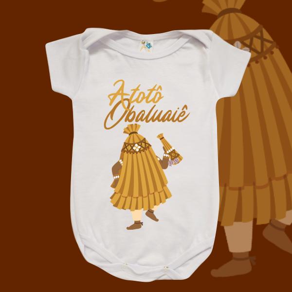 Body Infantil - Obaluaiê sem cenário