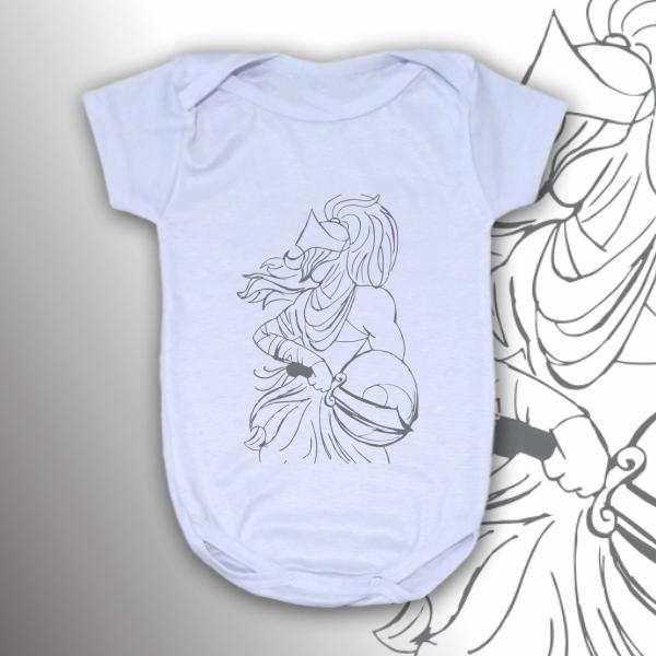 Body Infantil - Ogum vetorizado preto