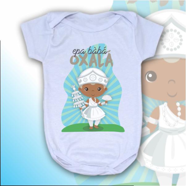 Body Infantil - Oxalá Baby