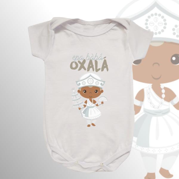 Body Infantil - Oxalá Baby sem franja