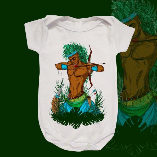 Body Infantil - Oxóssi caçador