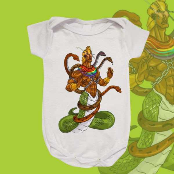 Body Infantil - Oxumare Cobra