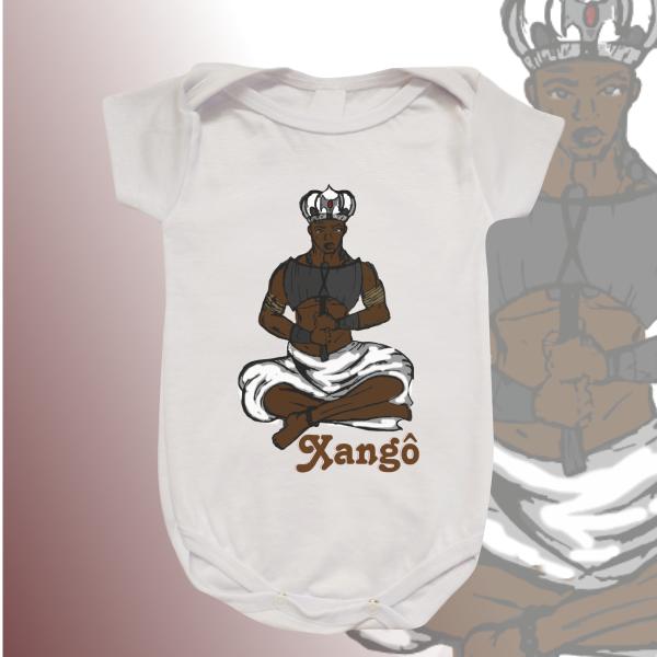 Body Infantil - Xangô desenho