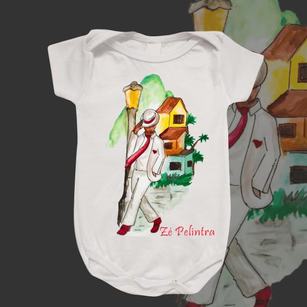 Body Infantil - Zé Pelintra sem ponto