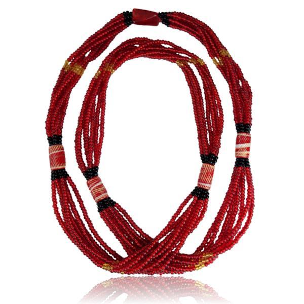 Brajá de Pombagira com 7 fios e miçangas importadas