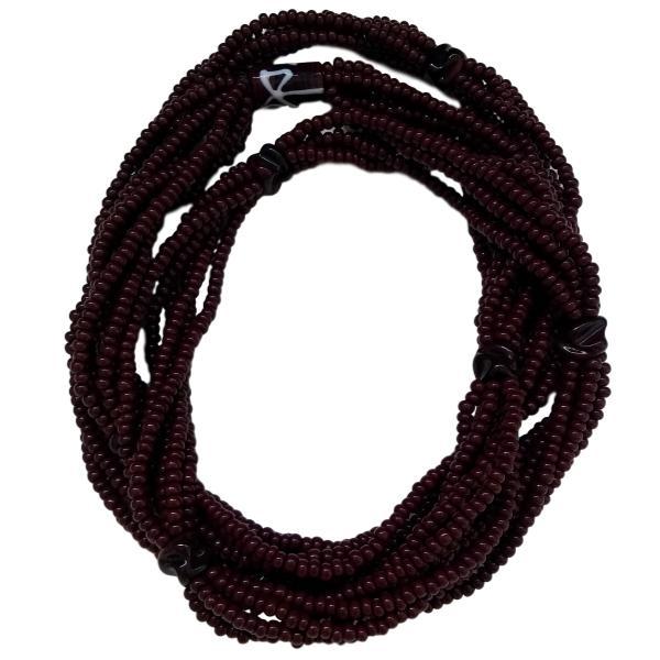 Brajá de Xango com 6 fios - miçanga importada