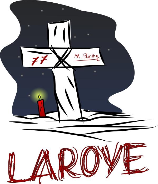 Camiseta Adulto -  Laroye