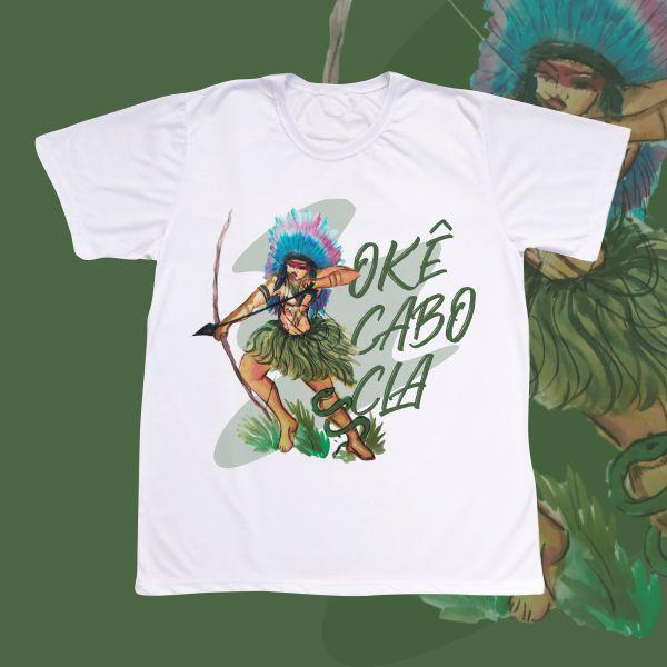 Camiseta Adulto - Cabocla