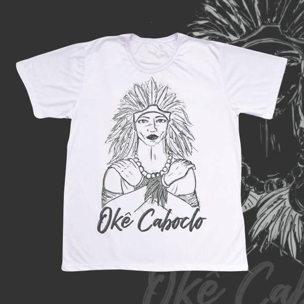 Camiseta Caboclo artístico