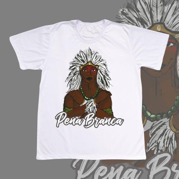 Camiseta adulto - Caboclo Pena Branca