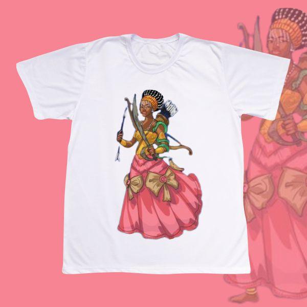 Camiseta Adulto -  Ewa Guerreira