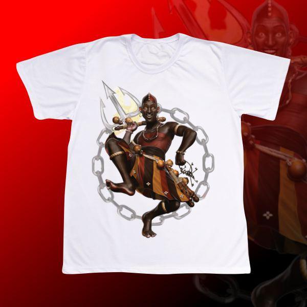 Camiseta Exú Orixá
