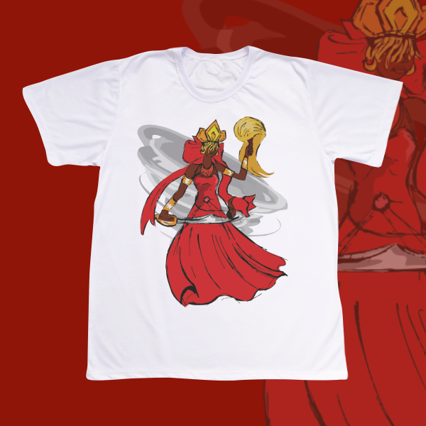 Camiseta Iansã vendaval