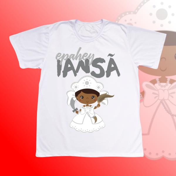 Camiseta Adulto -  Iansa baby branca sem franja