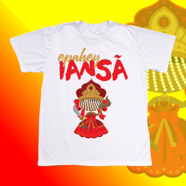 Camiseta Adulto -  Iansa baby com franja