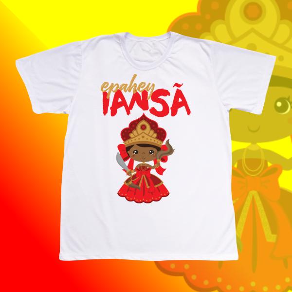 Camiseta Adulto -  Iansã baby sem franja