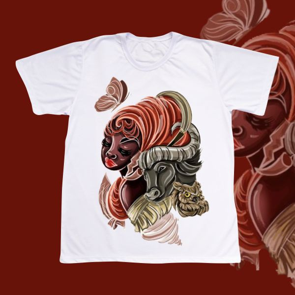 Camiseta Iansã vetorizada
