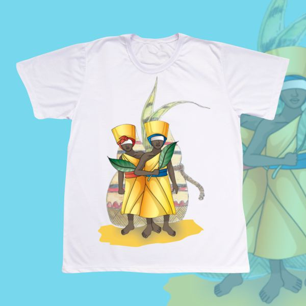 Camiseta Adulto -  Ibeji Meninos