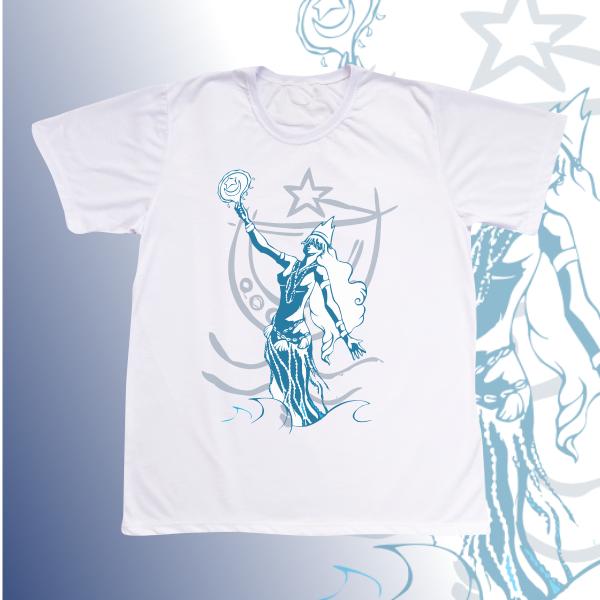 Camiseta Adulto -  Iemanjá vetor