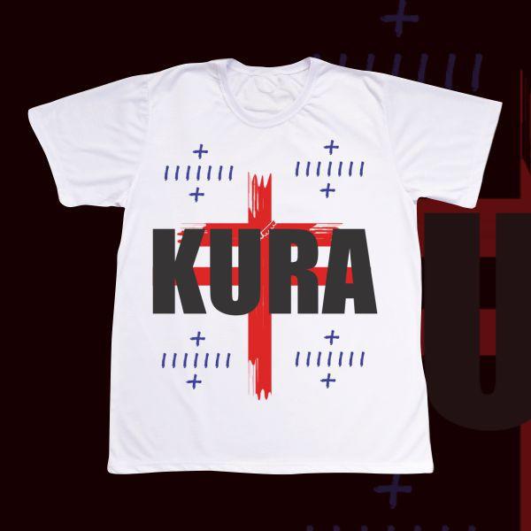 Camiseta Kura com quatro marcas de Kura